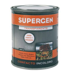Pegamento Supergen Incoloro 1000 ml.