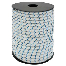 Cuerda Elástica Forrada 6 mm. Rollo 100 Metros