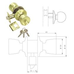 Abrazadera Dos Orejas Ø 14-17 mm.