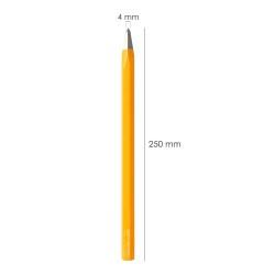 Cuchillo Montana Cocina Hoja Acero Inoxidable 15 cm. Mango Madera