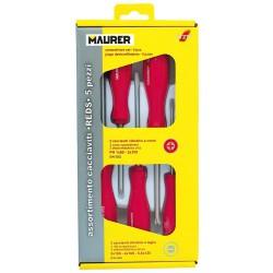 Sombrilla Playa Aluminio Ø 220 cm. con Mangos y Pincho/Espiral Protección UV