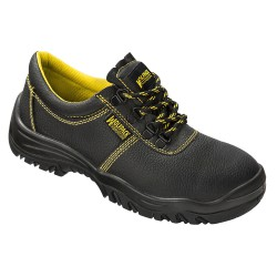 Zapatos Seguridad Piel Negra Wolfpack  Nº 45 (Par)