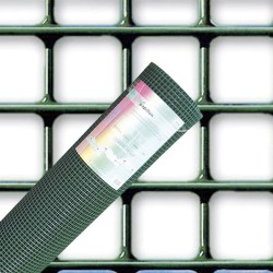 Malla Electrosoldada Plastificada Corral 13x13/ 60 cm. rollo 25 Metros