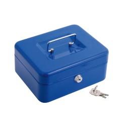 Lona Impermeable Reforzada 4x6 metros (Aproximadamente) Con Ojetes Metálicos, Lona de Protección Duradera, Color Azul.