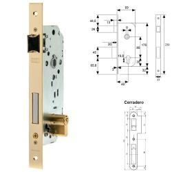 Rueda Industrial Goma Negra Fija 100 mm.