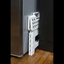 Alfombra Baño Antideslizante (6piezas)12x12 cm. Transparente