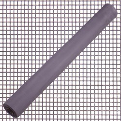 Tela Mosquitera Fibra Vidrio Gris 18x16/60 cm. Rollo 50 metros.